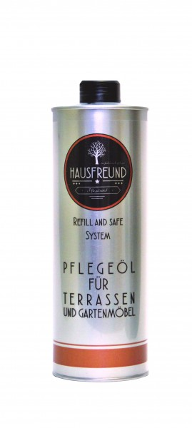 Hausfreund Pflegeöl für Terrassen und Gartenmöbel